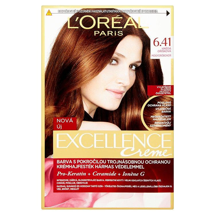 L'Oréal Paris Excellence Creme hnědá oříšková 6.41