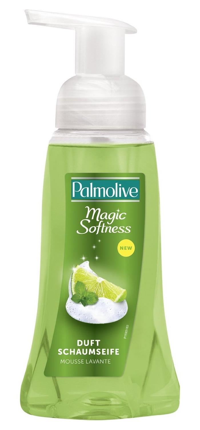 Palmolive Magic Softness Foam tekuté mýdlo Limetka & máta 250 ml