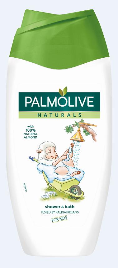 Palmolive Naturals gel do sprchy i koupele pro děti 250 ml