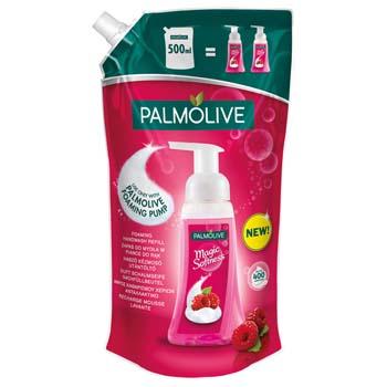 Palmolive tekuté mýdlo Magic Softness Foam Raspberry náhradní náplň 500 ml