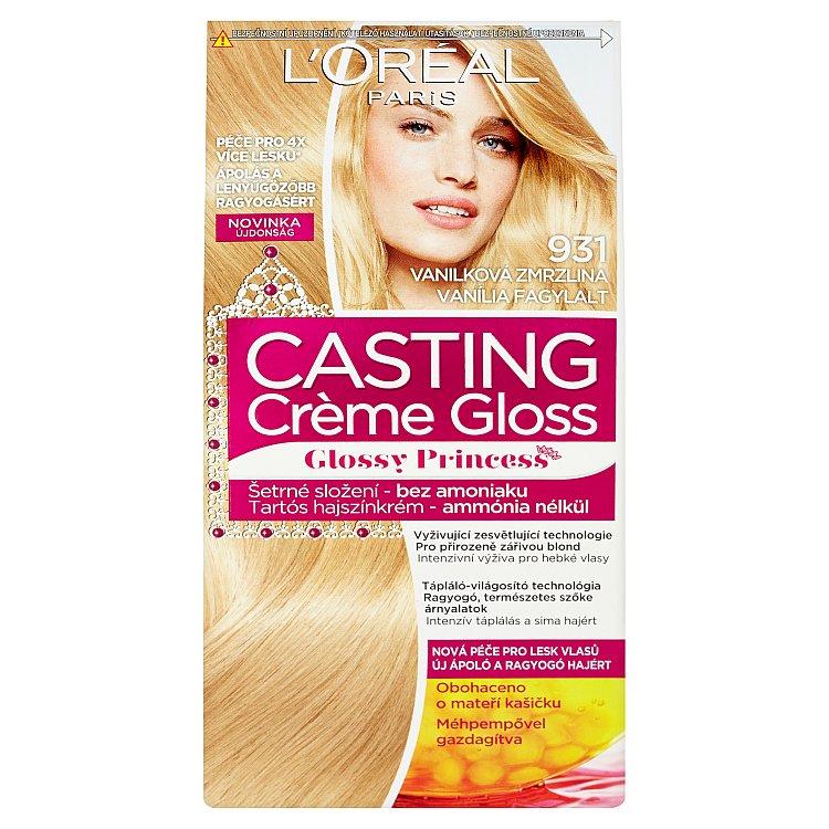 L'Oréal Paris Casting Crème Gloss barva na vlasy Vanilková zmrzlina 931