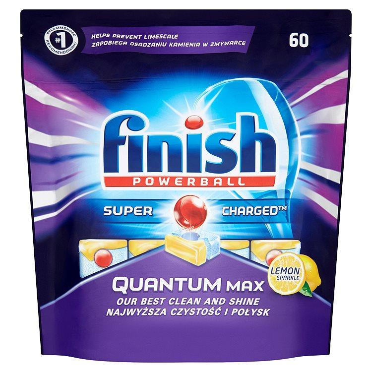 Finish Powerball Quantum Max lemon sparkle tablety do myčky nádobí 60 ks 930g