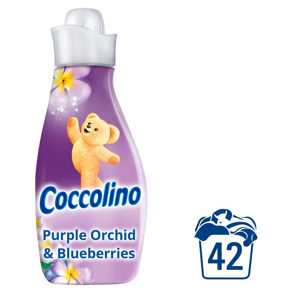 Fotografie Coccolino Creations Purple Orchid & Blueberries koncentrovaná aviváž 42 dávek 1,5 l