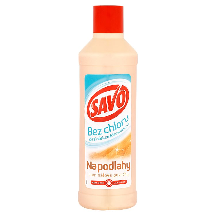 Savo Dezinfekce na podlahy a laminátové povrchy 1000 ml