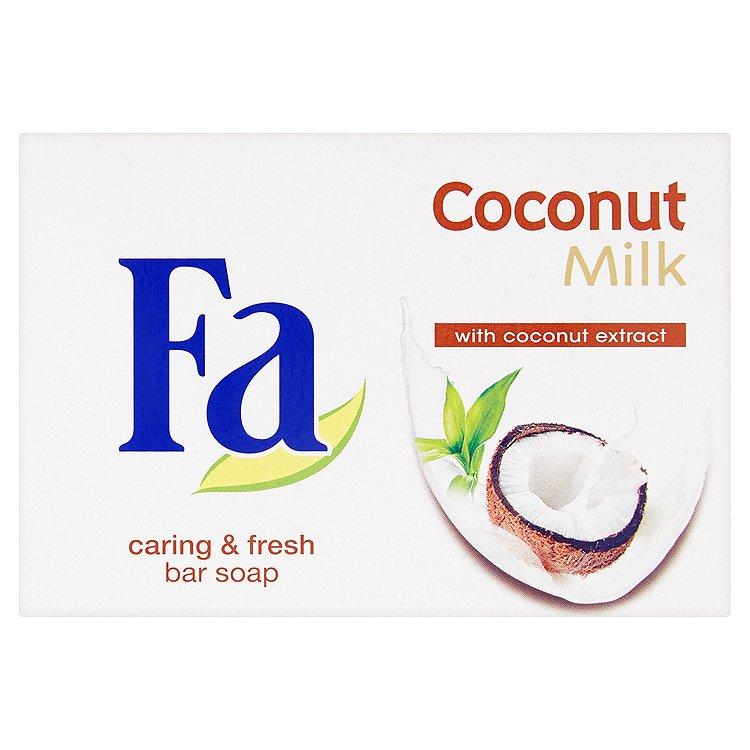 Fotografie Fa Coconut Milk toaletní mýdlo 90 g