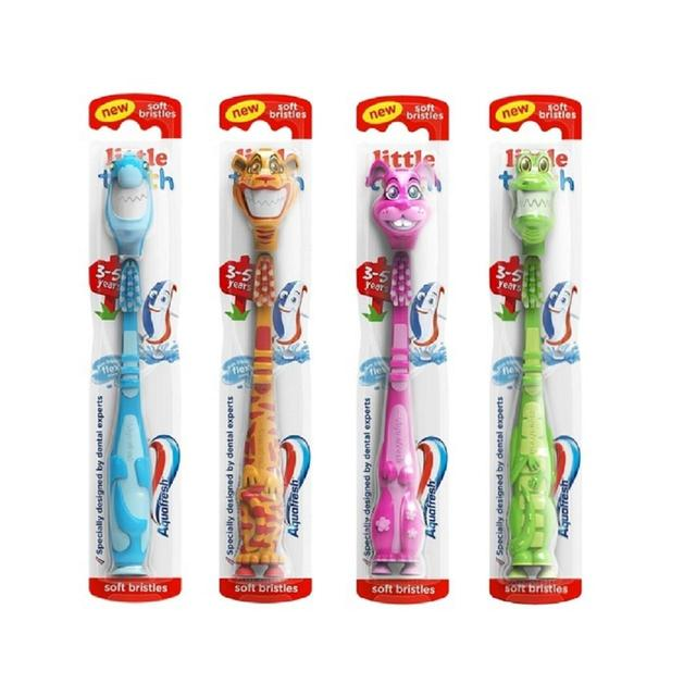 Aquafresh Little Teeth soft zubní kartáček pro děti 3-5 let