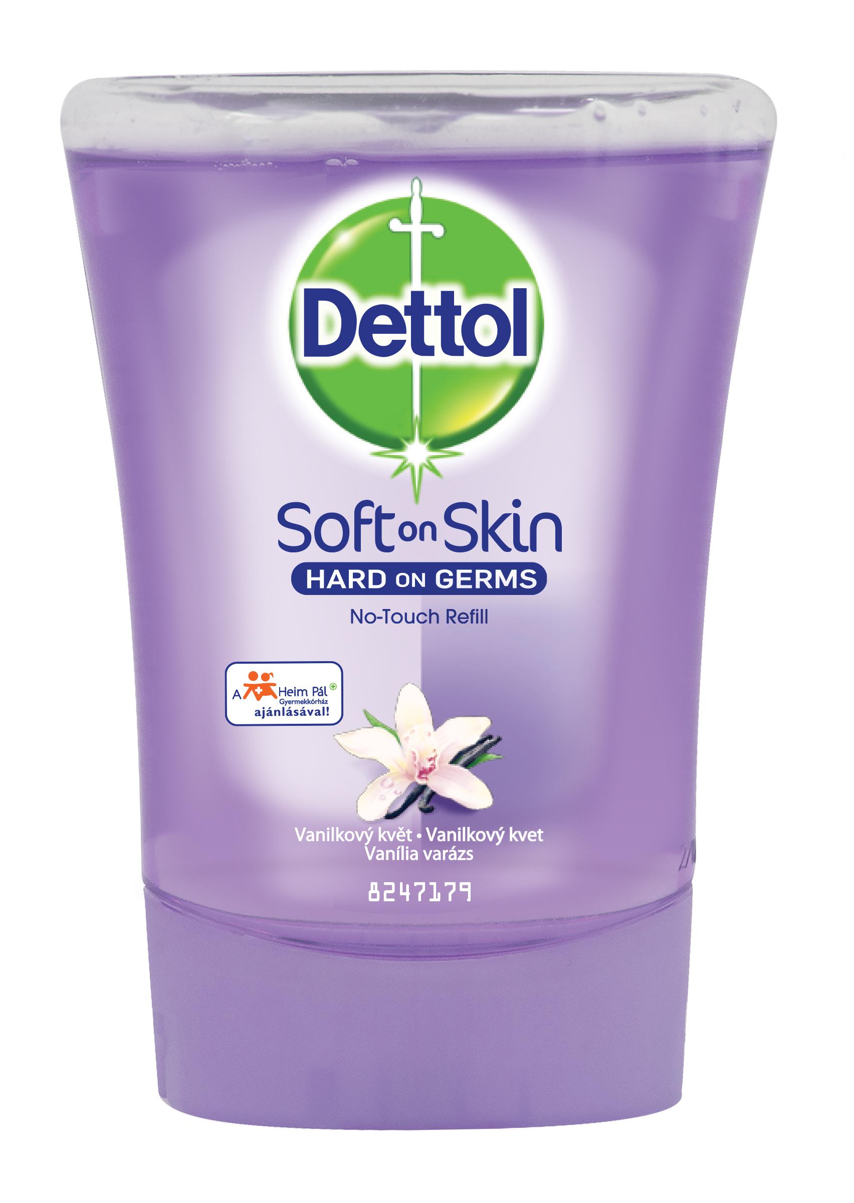 Dettol Náplň do bezdotykového dávkovače mýdla Vanilkový květ 250 ml