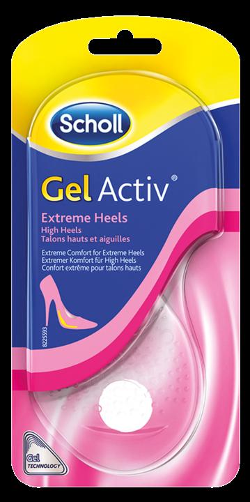 SCHOLL GelActiv vložky do bot pro extrémně vysoké podpatky 1 pár
