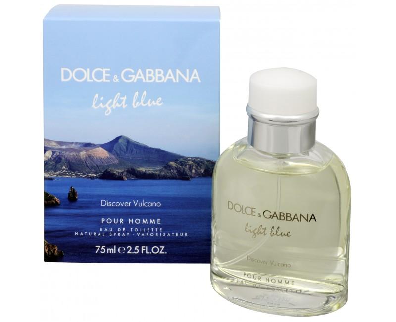 Dolce & Gabbana Light Blue Discover Vulcano - toaletní voda s rozprašovačem 75 ml
