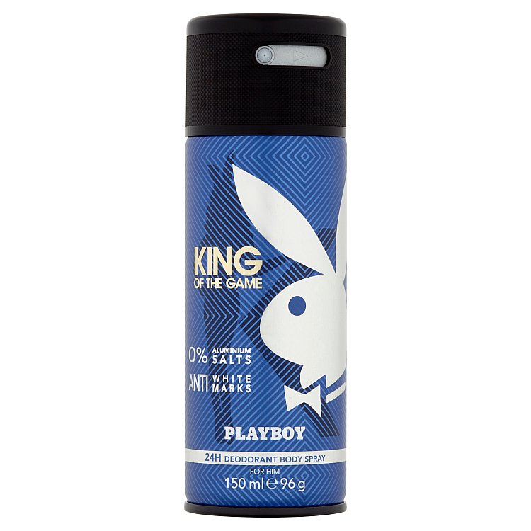 Fotografie Playboy King Of The Game - deodorant ve spreji