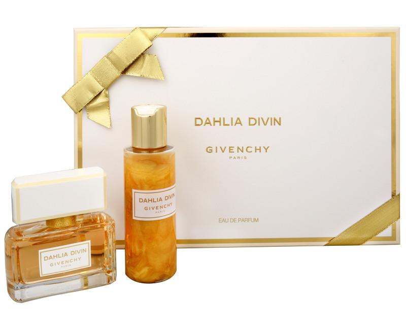 Fotografie Givenchy Dahlia Divin - parfémová voda s rozprašovačem 50 ml + tělový gel 100 ml