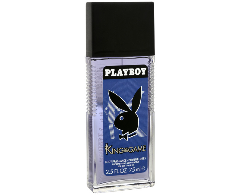 Playboy King of the Game Deodorant natural sprej 75 ml