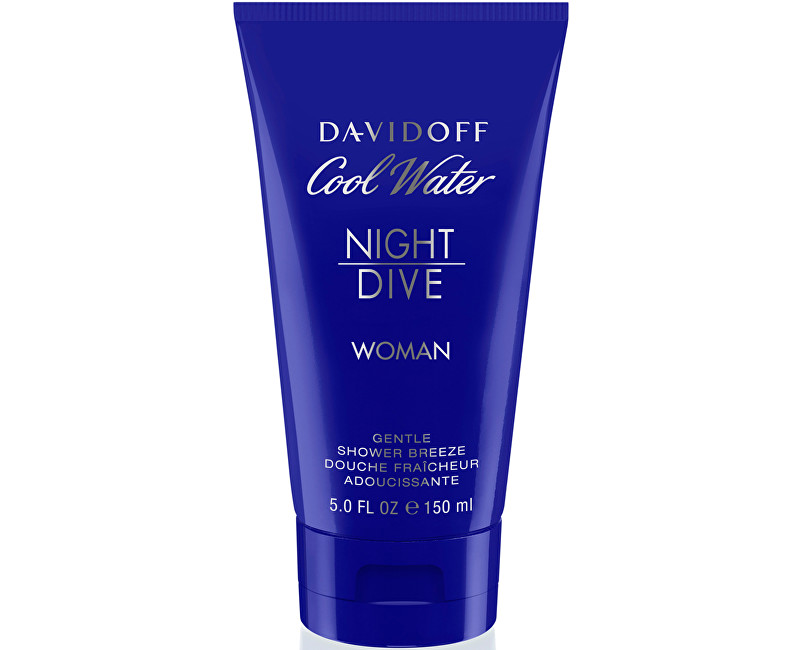 Cool Water Night Dive For Women - sprchový gel 150 ml