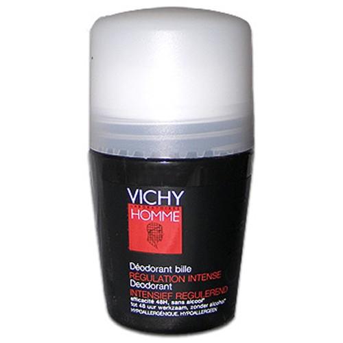 Fotografie Vichy Kuličkový deodorant pro muže Homme Deo roll-on Regulation Intense 50 ml