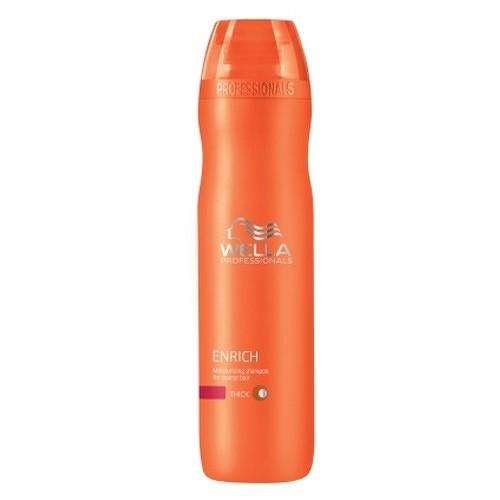 Fotografie Wella Professional hydratační šampon pro suché vlasy Enrich (Moisturizing Shampoo For Coarse Hair) 250 ml
