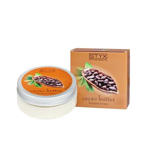 Fotografie Styx Cacao Butter tělový krém skakaovým máslem 200 ml