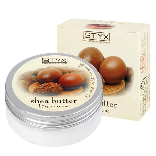 Fotografie Styx Shea Butter tělový krém sbambuckým máslem 200 ml