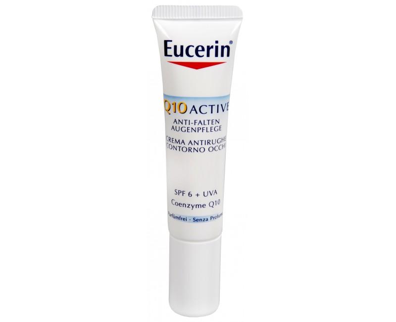 Eucerin Q10 Active, oční krém proti vráskám pro všechny typy citlivé pleti 15 ml