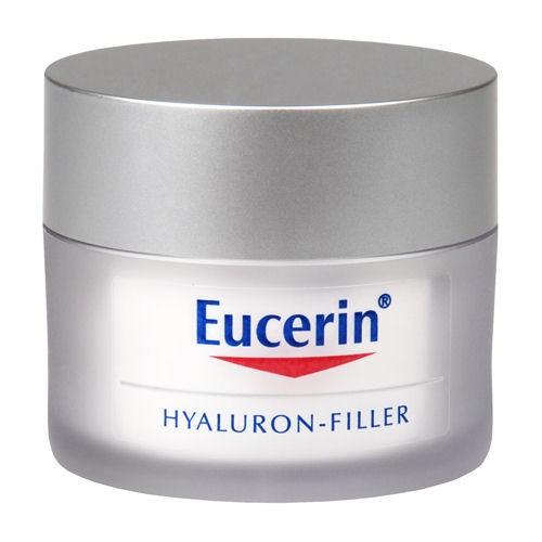 Fotografie Eucerin Hyaluron-Filler SPF 15, intenzivní vyplňující denní krém proti vráskám 50 ml