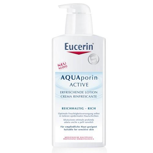 Fotografie Eucerin Hydratační tělové mléko pro suchou pokožku AQUAporin Active 400 ml