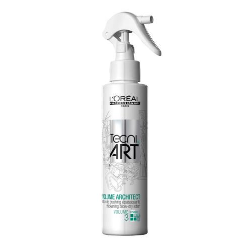 Fotografie L'Oréal Professionnel Tvarující spray-lotion pro plný a nadýchaný objem jemných vlasů Volume Architect 150 ml