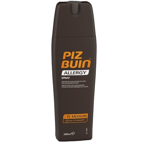 Piz Buin SPF 15 sprej na opalování 200 ml