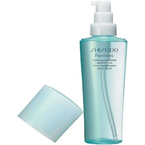 Fotografie Shiseido Pureness vyrovnávací tonikum pro problematickou pleť 150 ml