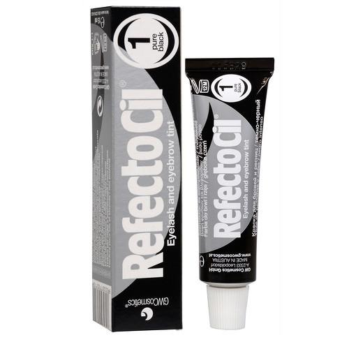 Refectocil barva na řasy a obočí 1 černá, 15 ml