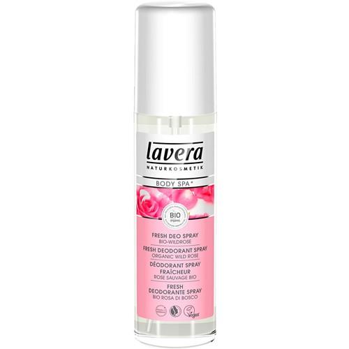 Fotografie Lavera Body Spa Rose Garden deodorant ve spreji 75 ml