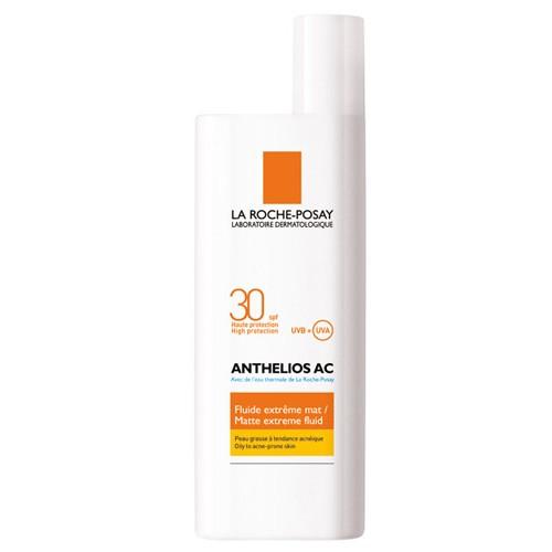 La Roche Posay Anthelios AC, zmatňující fluid na opalování na obličej SPF 30 50 ml