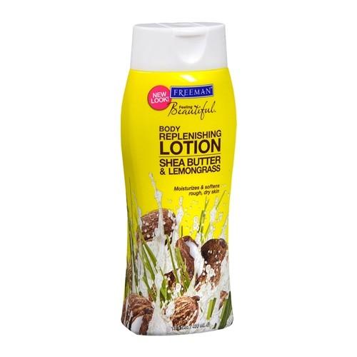 Freeman Vyživující tělové mléko s bambuckým máslem a citronovou trávou 400 ml