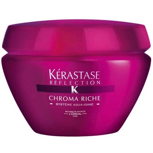 Kérastase ochranná maska na barvené a zesvětlované vlasy Chroma Riche Systéme Aqua-Ionic 500 ml