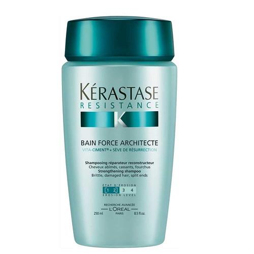 Fotografie Kérastase šampon pro velmi křehké a poškozené vlasy Bain Force Architecte 1000 ml