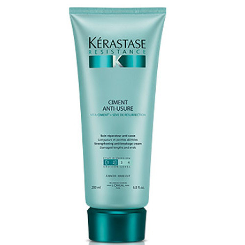 Fotografie Kérastase obnovující krém pro poškozené vlasy Ciment Anti-Usure 200 ml Kérastase