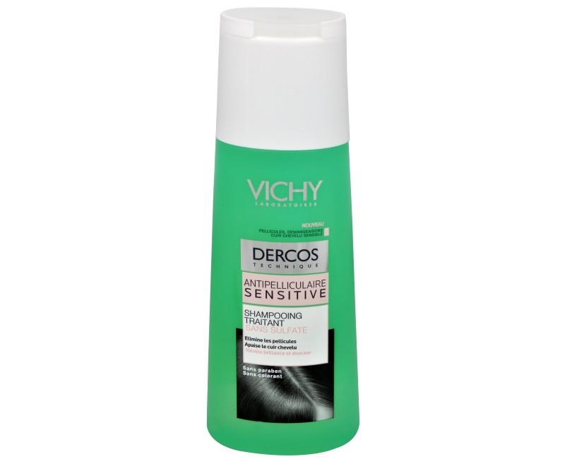 Vichy bezsulfátový šampon proti lupům pro citlivou pokožku Dercos