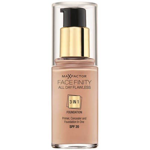 Max Factor Facefinity 3 v 1 dlouhotrvající make-up 80 Bronze, 30 ml