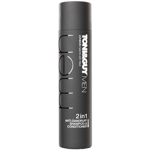 Fotografie Toni&Guy - Men Anti-Dandruff 2in1 Shampoo 250ml Přípravek proti lupům M Proti lupům