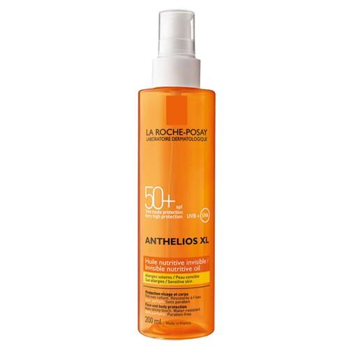 Fotografie La Roche Posay Neviditelný výživný olej SPF 50+ Anthelios XL 200 ml