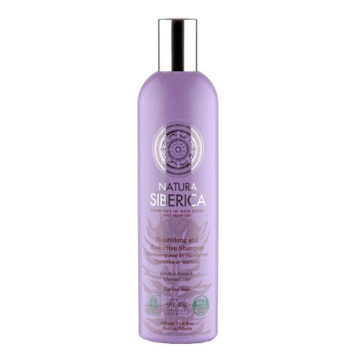 Fotografie Natura Siberica šampon pro suché vlasy - Ochrana a výživa 400 ml
