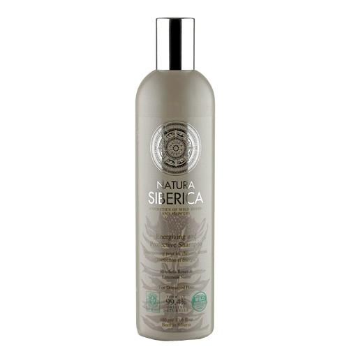Fotografie Natura Siberica šampon pro unavené a oslabené vlasy - Ochrana a energie 400 ml