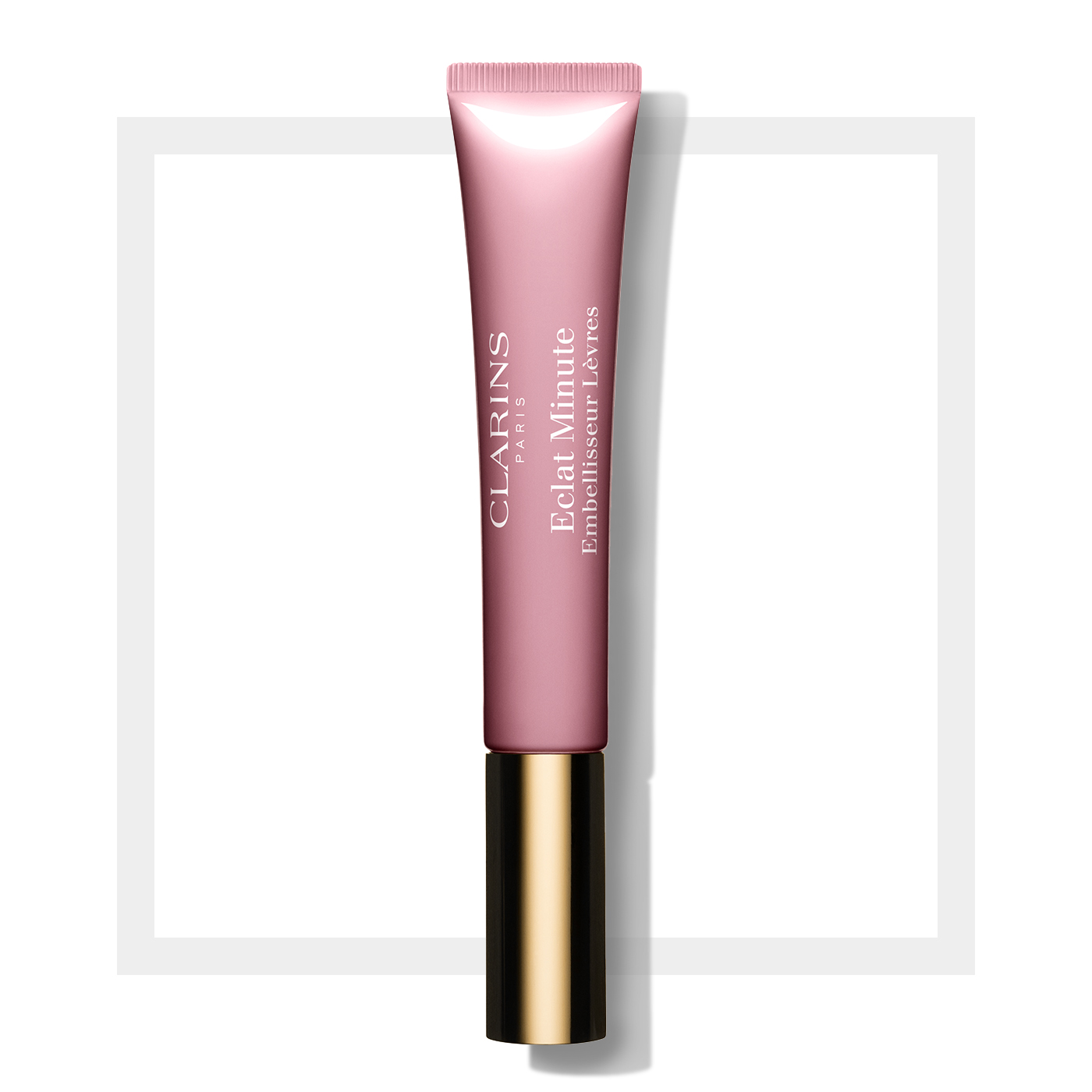 Clarins Instant Light, lesk na rty 07 Toffee Pink Shimmer