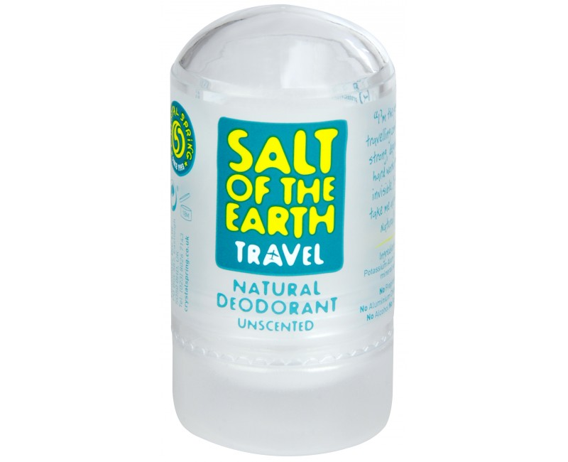 Fotografie Tuhý krystalový deodorant Salt of the Earth 50 g