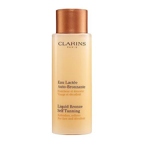 Clarins Liquid Bronze Self Tanning, samoopalovací mléko na obličej 125 ml