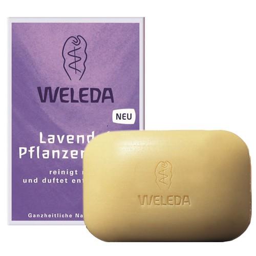 Fotografie Weleda levandulové rostlinné mýdlo 100 g