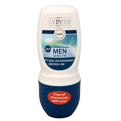 Lavera Men Sensitiv osvěžující kuličkový deodorant pro muže 50 ml