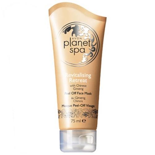 Avon Planet Spa revitalizační slupovací maska s výtažky z ženšenu pravého 75 ml