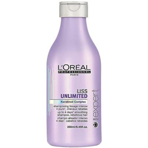 Fotografie Loreal Professionnel Vyhlazující šampon pro krepaté a neposlušné vlasy Liss Unlimited 500 ml