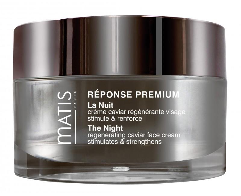Fotografie Matis Paris Réponse Premium La Nuit, regenerační noční krém pro všechny typy pleti 50 ml