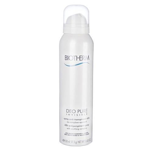 Biotherm 48hodinový zklidňující antiperspirant Deo Pure Invisible 150 ml