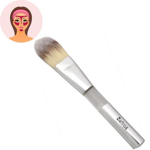 Sefiros Silver rovný štětec na make-up